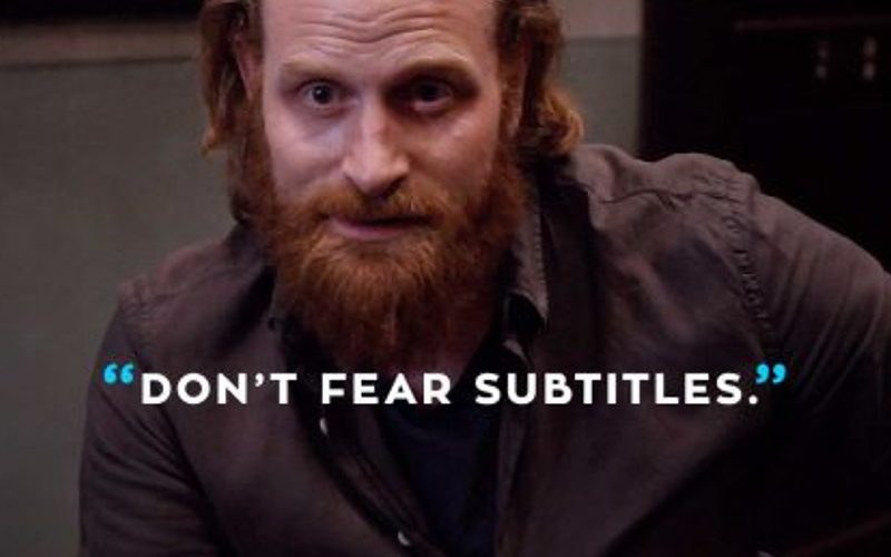 Sottotiolaggio: citazione meme don't fear subtitles