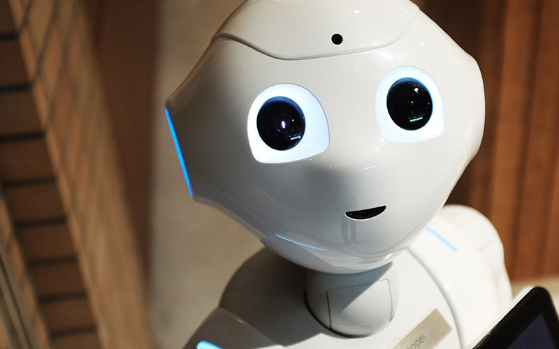 Neural machine translation: white robot