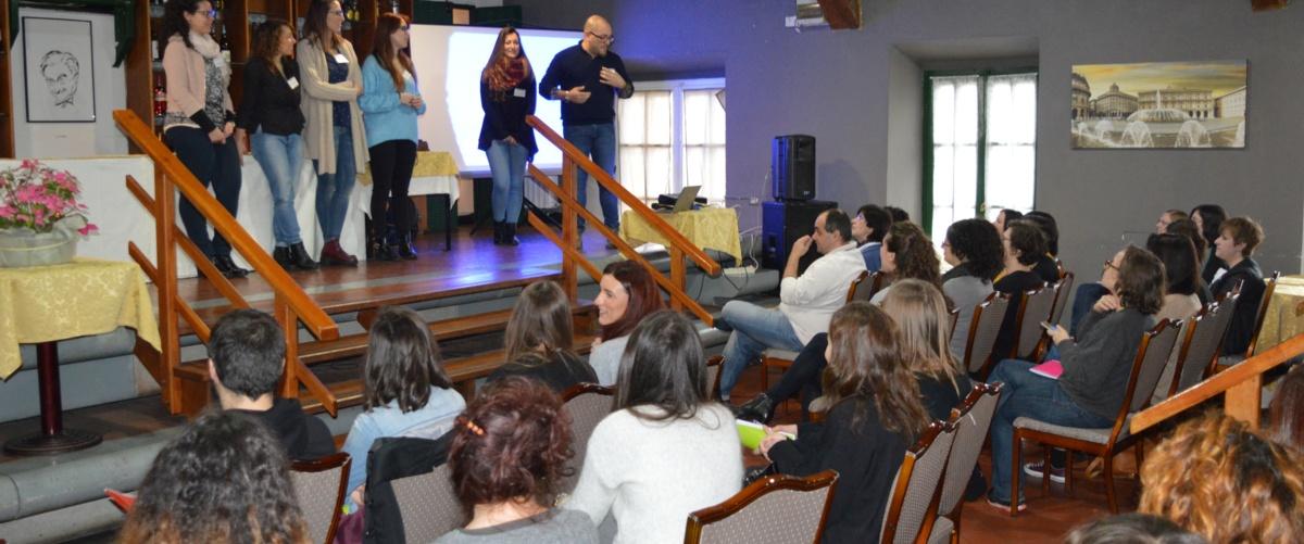 Il Team Creative Words al Freelance Meetup