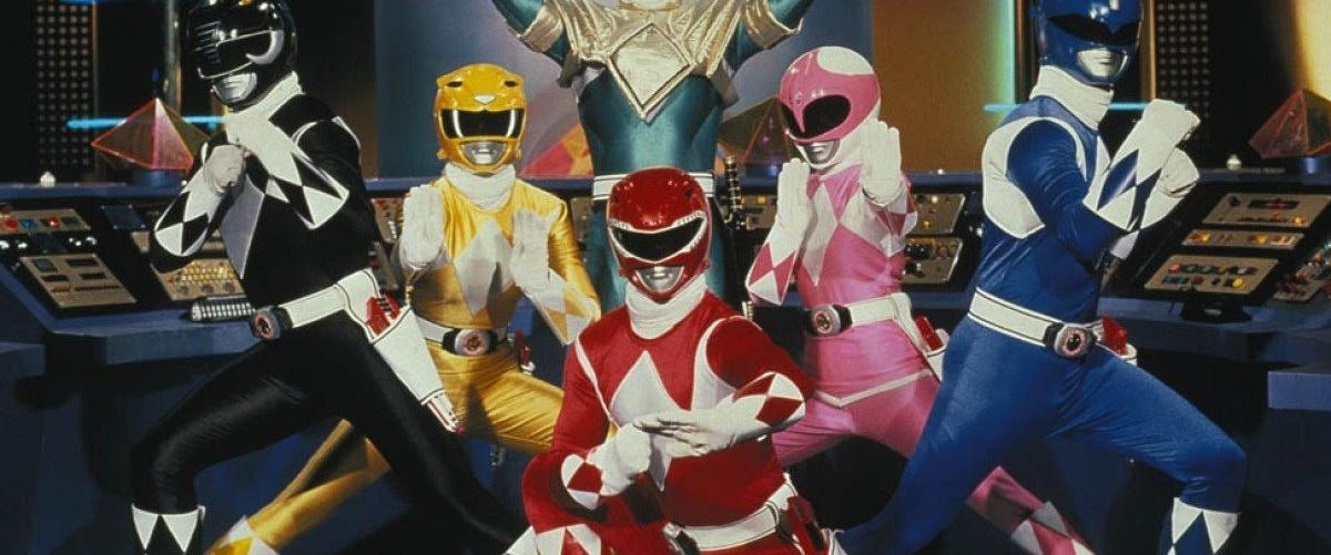 Cinque Power Rangers all'attacco