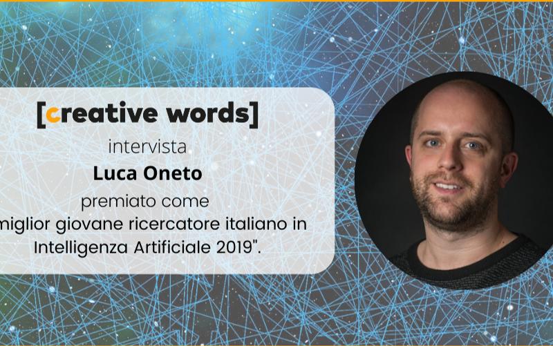 Luca Oneto: miglior giovane ricercatore italiano in Intelligenza Artificiale 2019