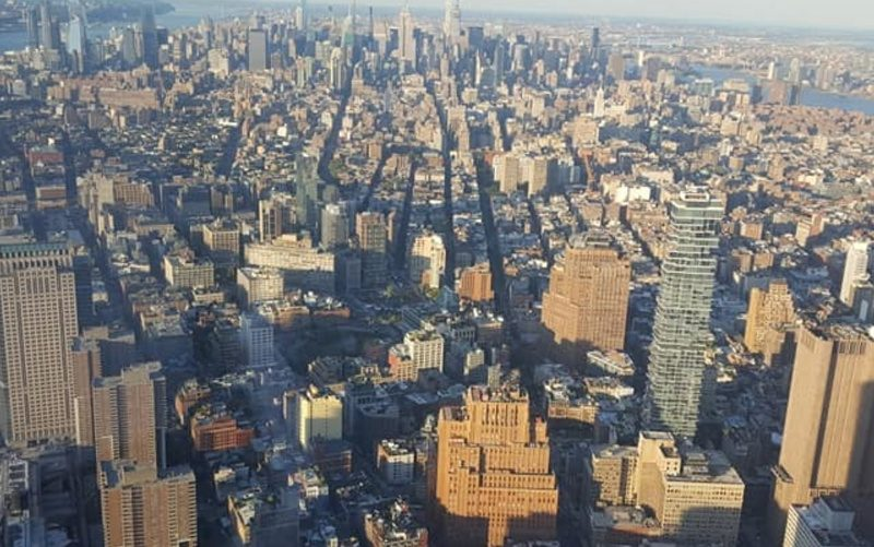 Bleisure: panorama di New York