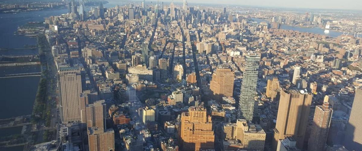 Bleisure: panorama di New York
