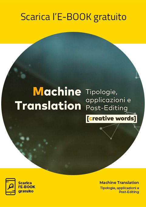 E-book, Machine Translation - Creative Words, servizi di traduzione, Genova