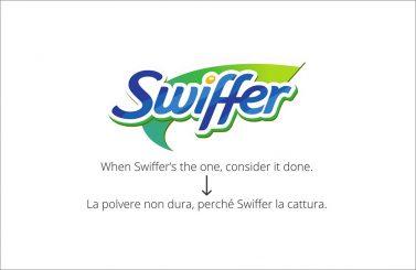Swiffer, Creative Words, servizi di traduzione, Genova