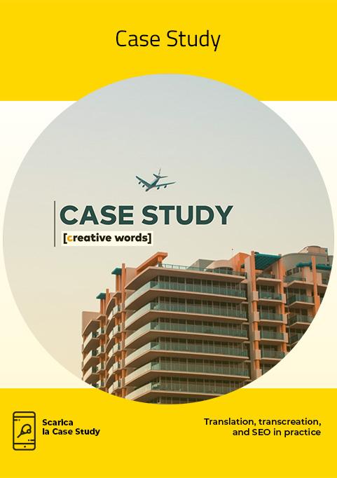 Case Study - Creative Words, servizi di traduzione, Genova