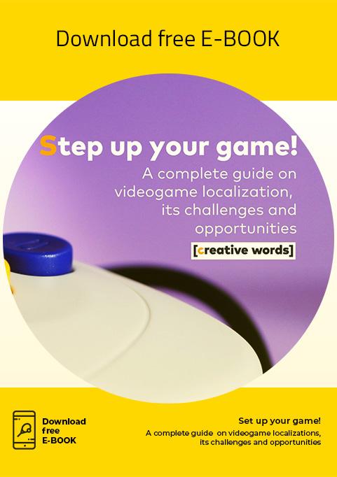 E-book, Step up your game! - Creative Words, servizi di traduzione, Genova