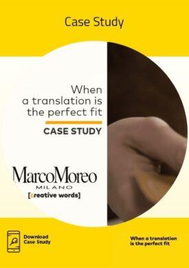 Case Study E-commerce Creative Words Marco Moreo