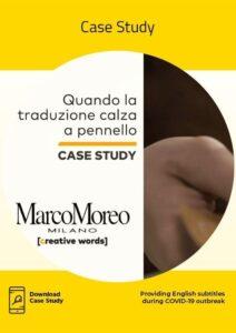 Marco Moreo Case Study
