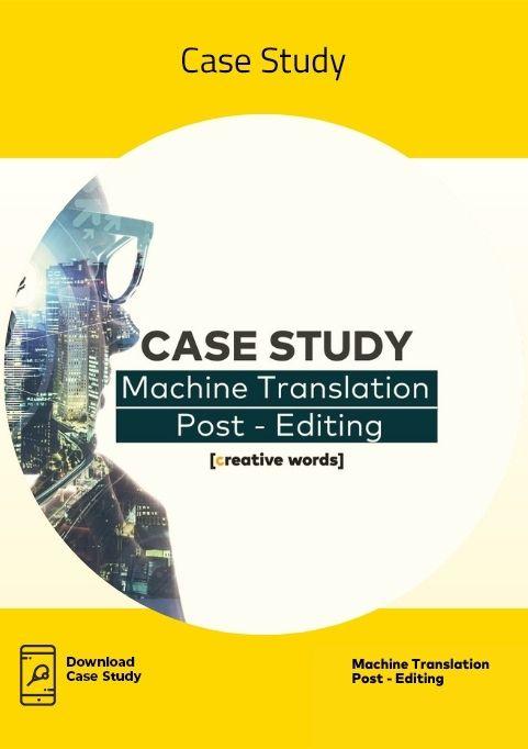 Icona Case Study Machine Translation