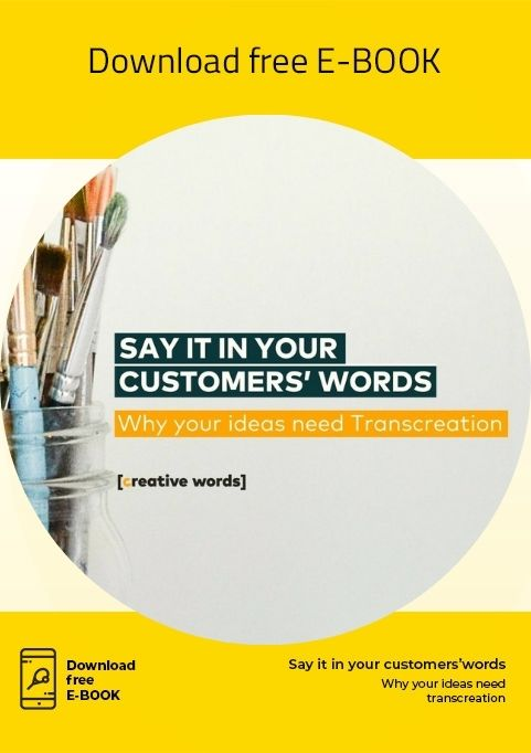 Ebook Transcreation Say it in your customers' words
