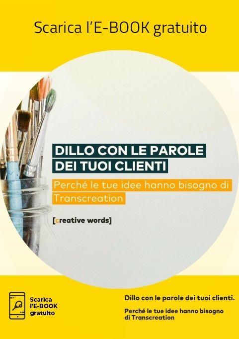 Icona E-Book Dillo con le parole dei tuoi clienti